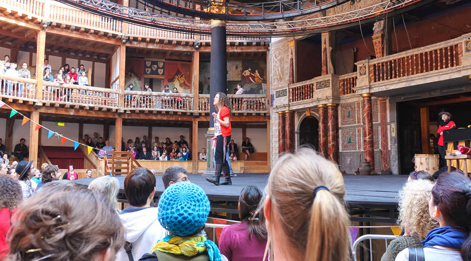 Palco do Globe Theatre