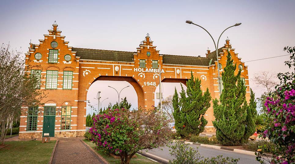 Portal de entrada de Holambra