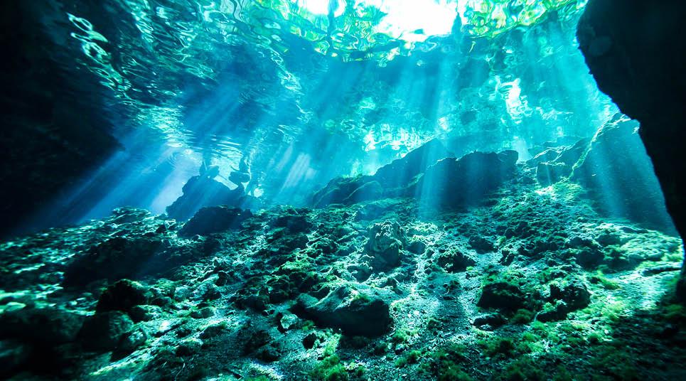 Cenote no México