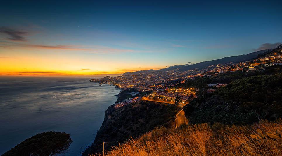 Fim da tarde em Funchal