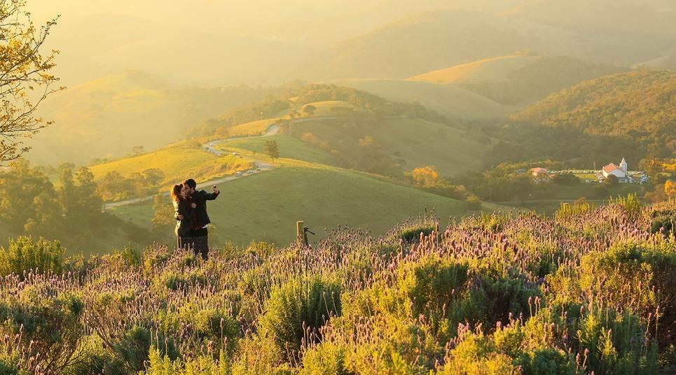 Lavandário, em Cunha (SP), é o destino perfeito para casais (foto: Shutterstock)