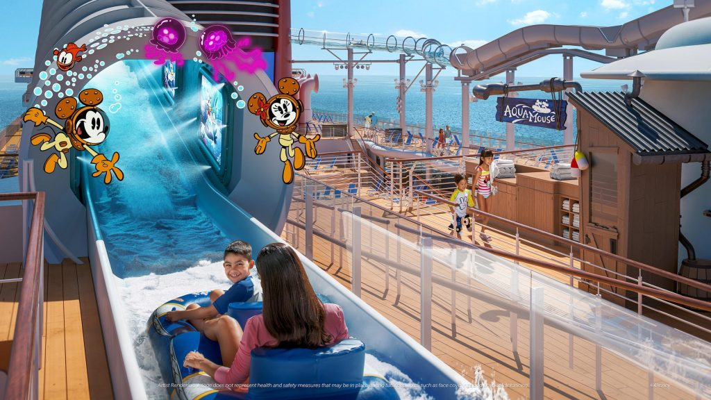 O cruzeiro oferece mais do que apenas um passeio pelo universo Disney, mas também uma aventura na companhia de seus personagens favoritos (foto: divulgação)