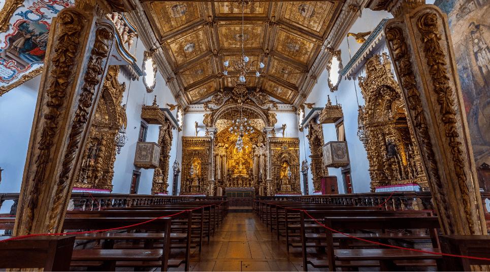 Em primeiro lugar, temos a Igreja Matriz de Santo Antônio (foto: shutterstock