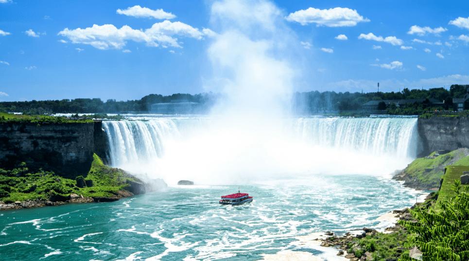 Por fim, vale a pena encerrar a viagem com uma ida ao Niágara Falls (foto: shutterstock)
